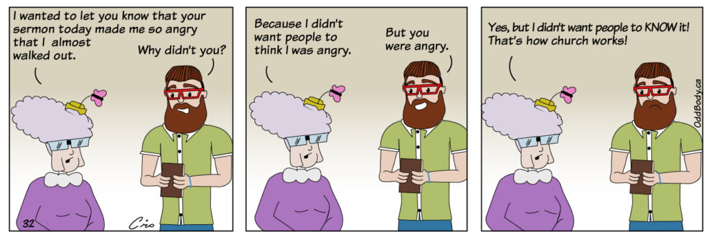 Christian comic strip